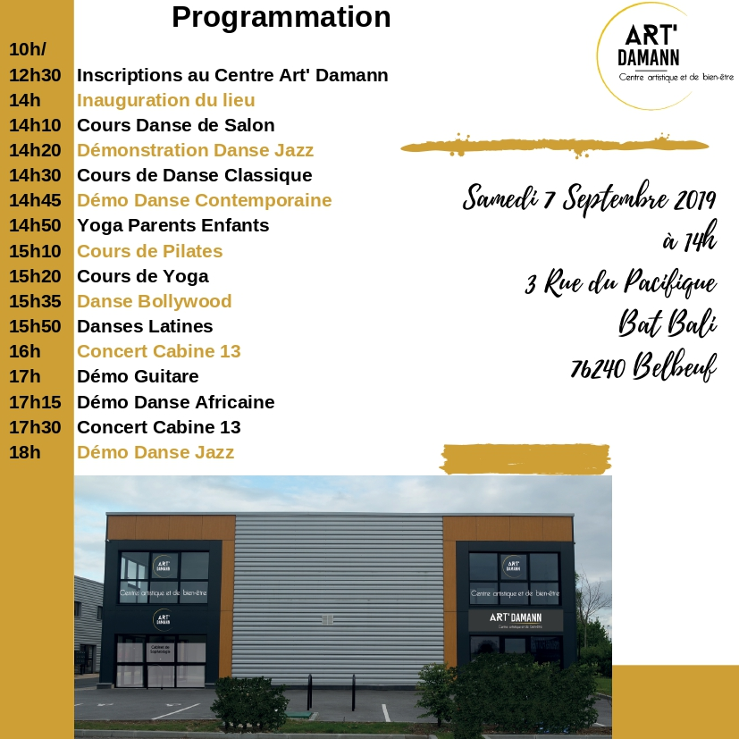 Inauguration Centre Art' Damann 1