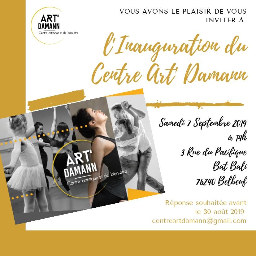 Inauguration Centre Art' Damann 2