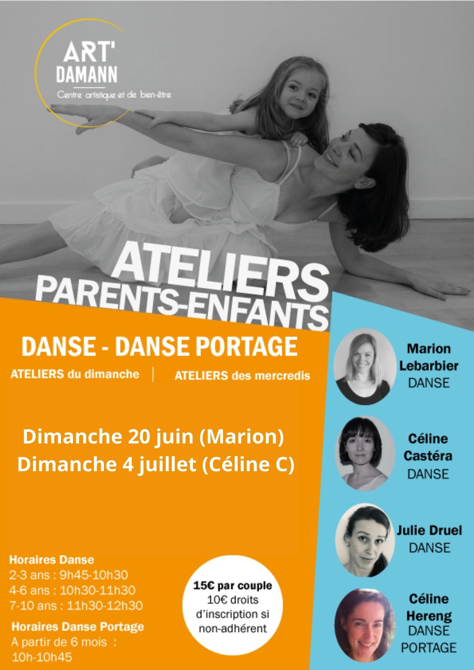 atelier danse parents enfants